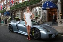 Maria Sharapova Llegó En Este Porsche 918 Spyder A La Fiesta De Wimbledon
