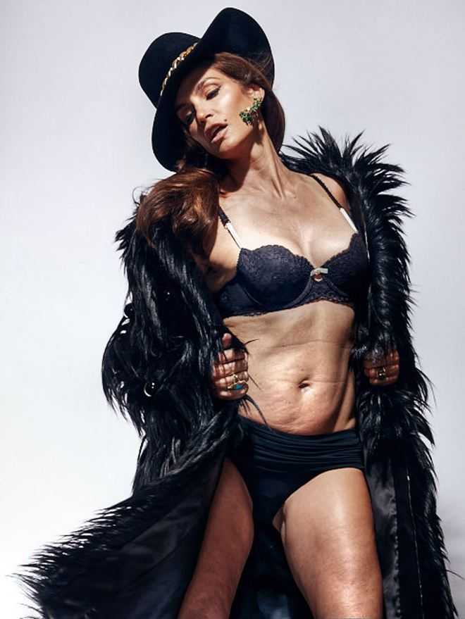 cindy crawford untouched
